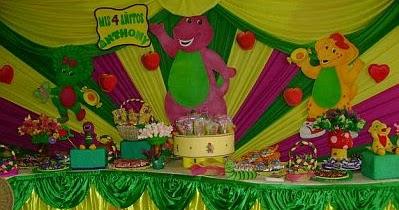 MyTotalNetcom Barney Childrens Parties Decoration
