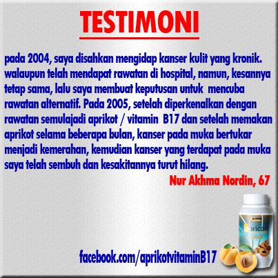 testimoni pengguna aprikot