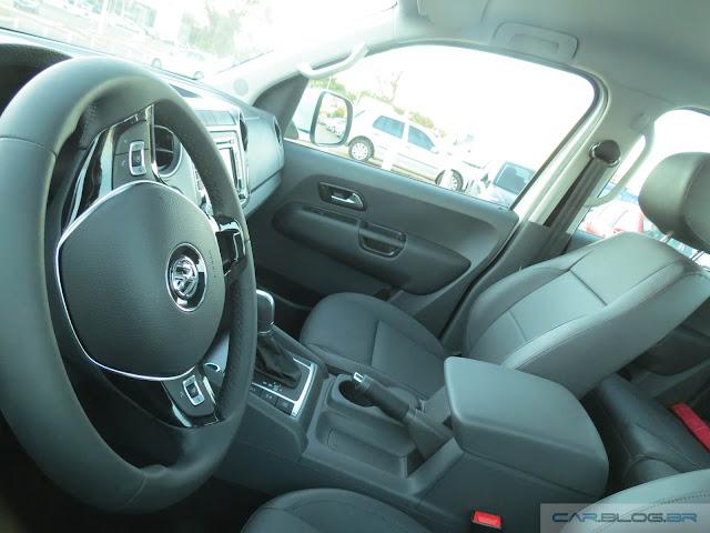VW Amarok 2016 - interior