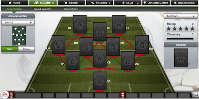 FUT 13 Formations - 3-4-1-2 - FIFA 13 Ultimate Team