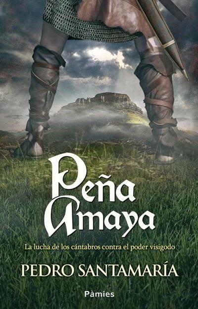Portada del libro Peña Amaya, de Pedro Santamaría