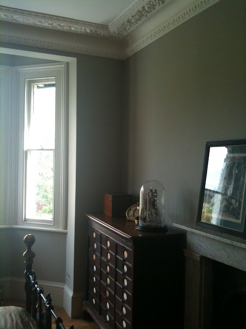 Farrow and Ball Hardwick White in north facing room