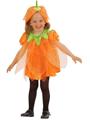 Græskarpige kostume