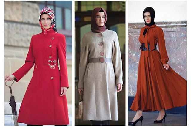 ازياء شتوية للمحجبات 2013 - ملابس المحجبات 2013 - ازياء تركية للمحجبات