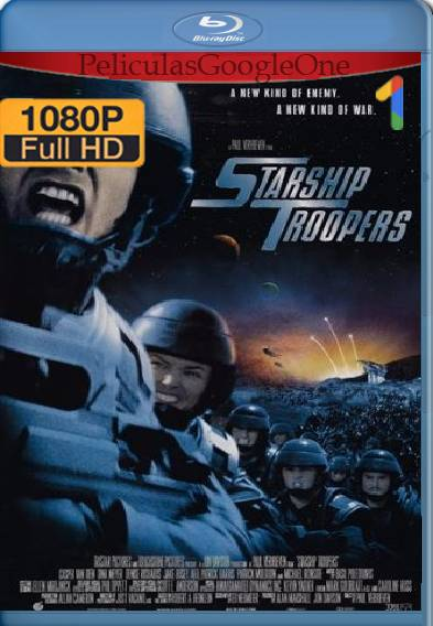 Starship Troopers (1997) HD [1080p] [Latino] [GoogleDrive]