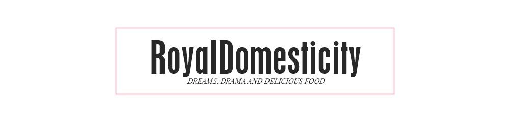 Royal Domesticity