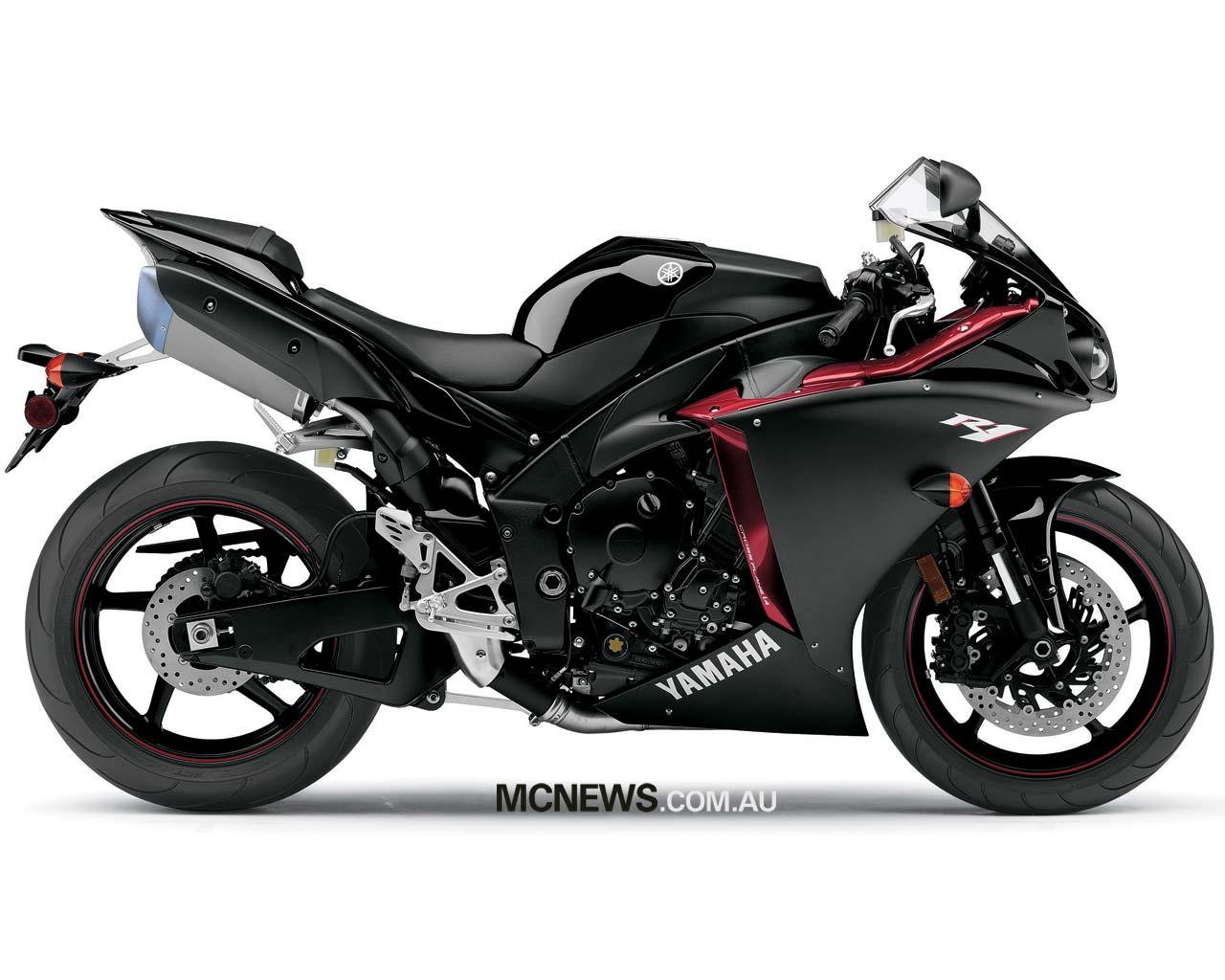 Cool Bikes Yamaha R1 Black
