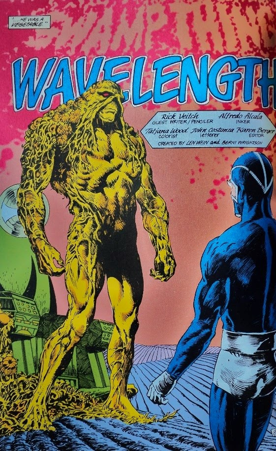 Swamp Thing # 61, 62, 63 64 - Moore, Veitch Bissette