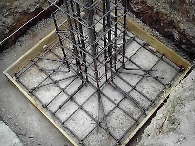 Construcción zapata aislada