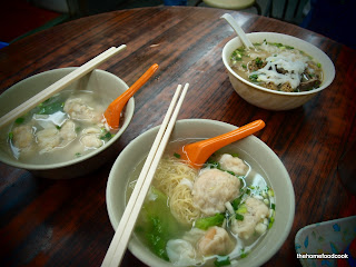 thehomefoodcook - four days of hong kong - dumpling noodles