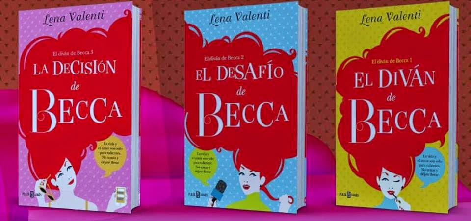 Mis momentos de relax el div n de becca de lena valenti for Libro el divan de becca