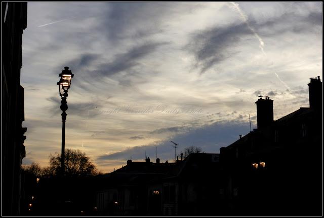 Winter sky Versailles