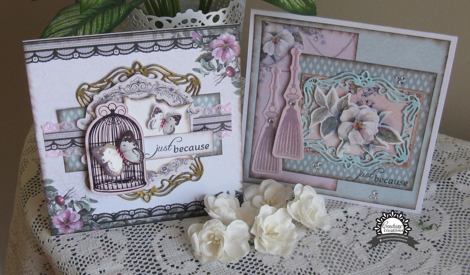 Ultimate Crafts MAGNOLIA LANE /'DIECUT EPHEMERA SET/' Embellishments Die Cuts