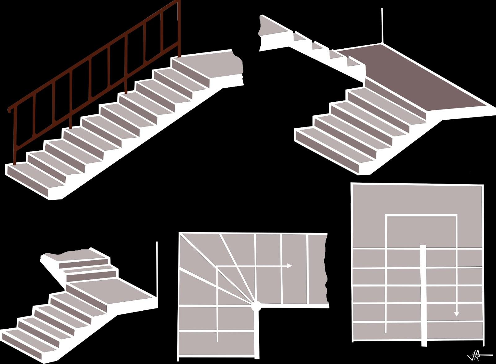 Dise o de una escalera quiero reformar mi casa for Formula escalera
