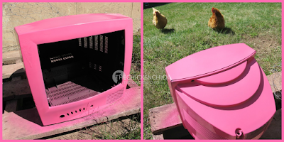 Black simply would not do for my girlz, so I gave it a quick spray with some pink paint and we were ready to give it a test drive!