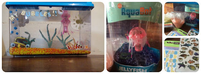 Creating a hexbug aquabot sealife centre for bubbles our for Tap tap fish light jellyfish