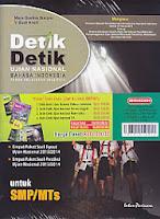 toko buku rahma: buku DETIK-DETIK UJIAN NASIONAL SMP Tahun 2013/2014, penerbit intan pariwara