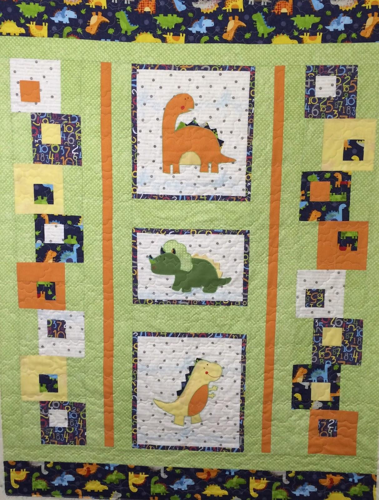 Chris Olsen's Baby Dinosaur Quilt