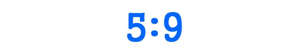 The 5:9 Focus