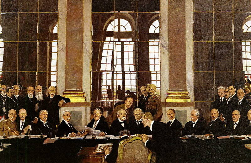 Когда Создан Версальский Мирный Договор