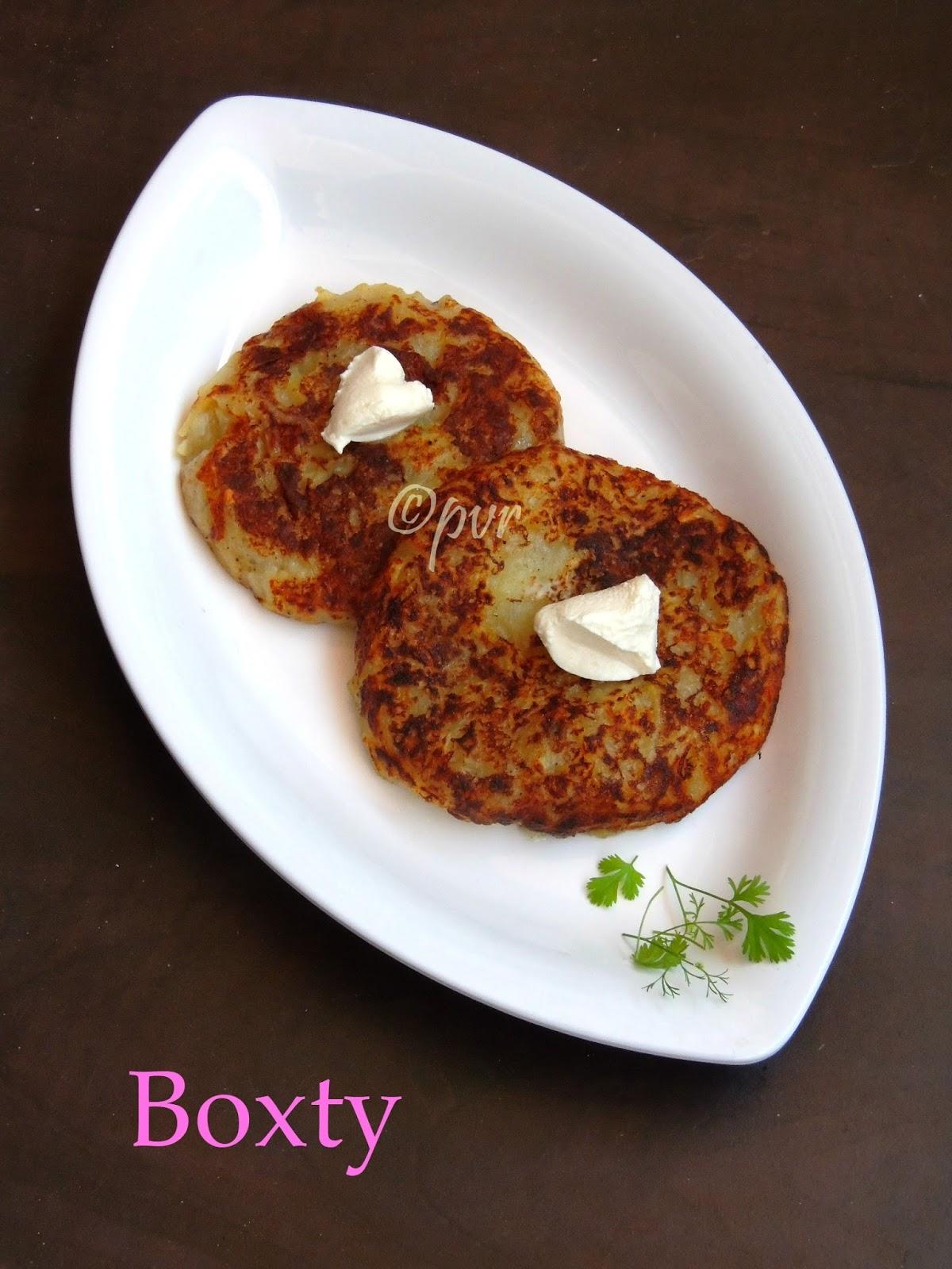 Potato Boxty Recipe — Dishmaps