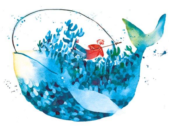 Cynthia Liu koyamori deviantart ilustrações estilo anime kawaii vintage surreal fantasia aquarela