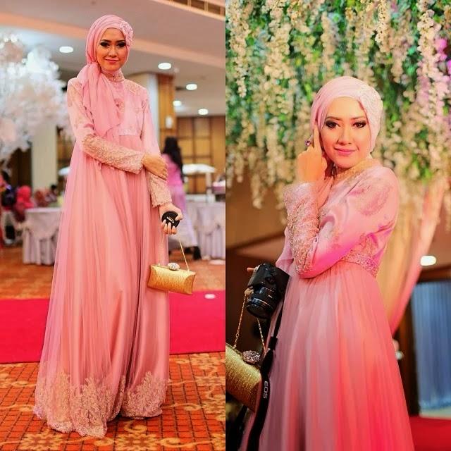 Model 1. Hijab Kebaya Modern Terbaru 2015