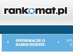 pierwszy krok kalkulacji na rankomat.pl