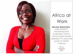 Africa At Work: Beverly Mademba Talks Working on WASH Education