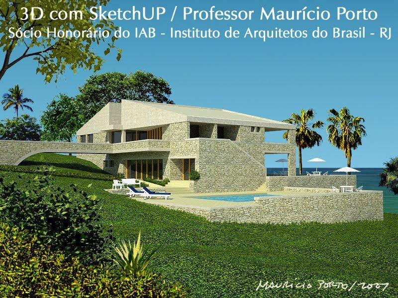 3D com SketchUp / Maurício Porto