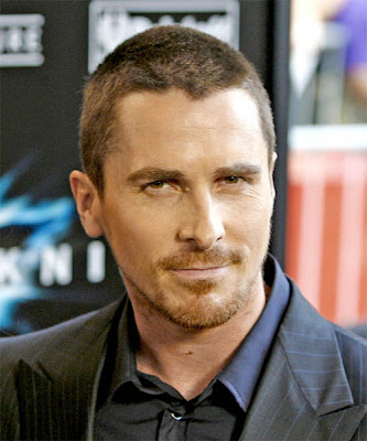CHRISTIAN BALE SHORT BUZZ HAIRSTYLE