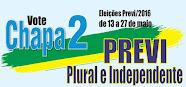 Vote por uma Previ Plural e Independente