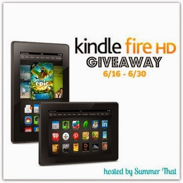 Enter to win a Kindle Fire HD. Ends 6/30.