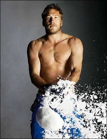 Shirtless Bode Miller stands up for LGBT rights by denouncing Russia's anti-gay laws