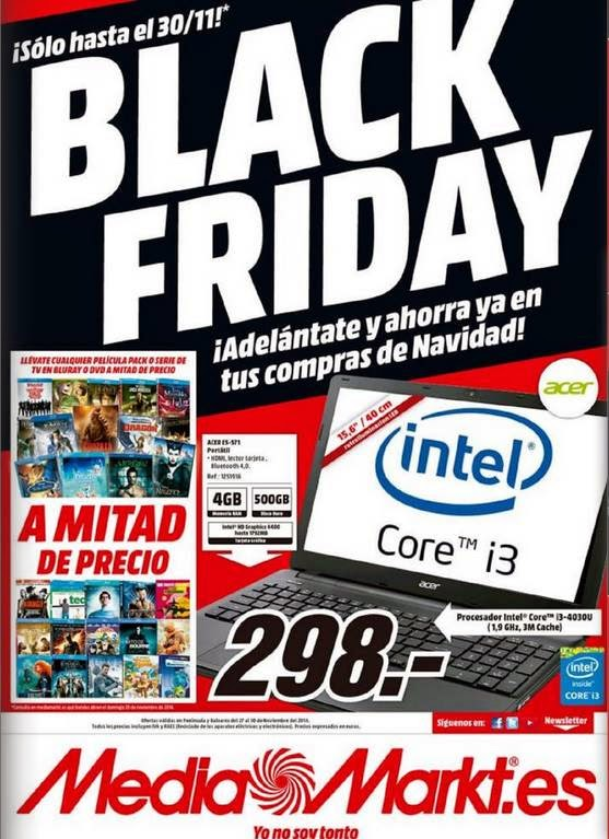 Catalogo Black Friday 2014 Media Markt