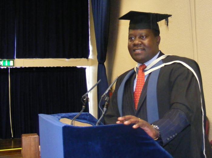Mwenyekiti Mstaafu WA TAWI LA CCM UK Ndugu MAINA A OWINO