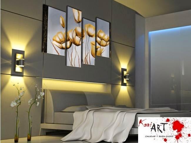 Cuadros flores para sala comedor dormitorio desd 250 - Cuartos pintados modernos ...