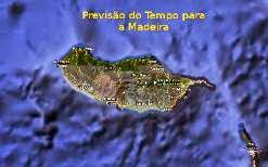 Previsão do Tempo para a Madeira