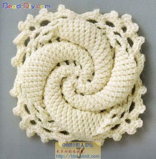 Knit Accessories Patterns Free : Knitting And Beading Wedding Bridal Accessories and Free pattern: Free croche...