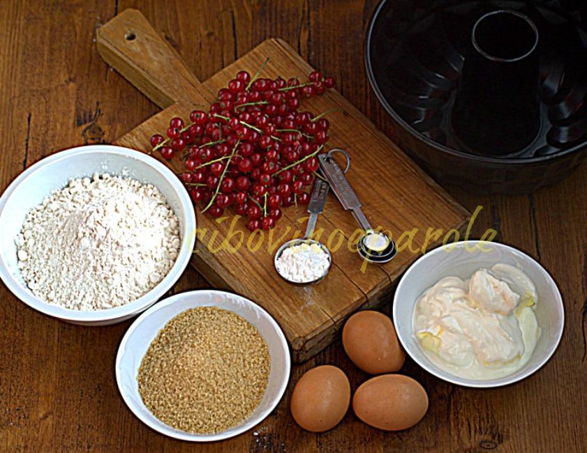 Ingredienti Gugelhupf