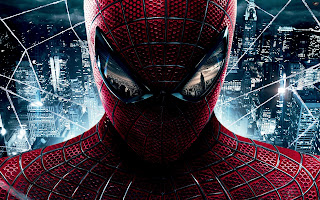 Spider-Man Reflecting Eyes New Movie HD Wallpaper