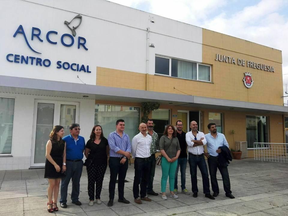 PSD DE ÁGUEDA EM VISITA À ARCOR!