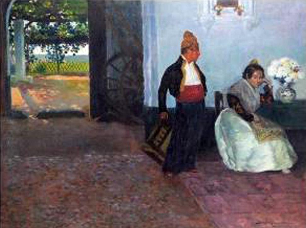 Valencianas pintadas bartolom mongrell mu oz - Pintor valenciano ...