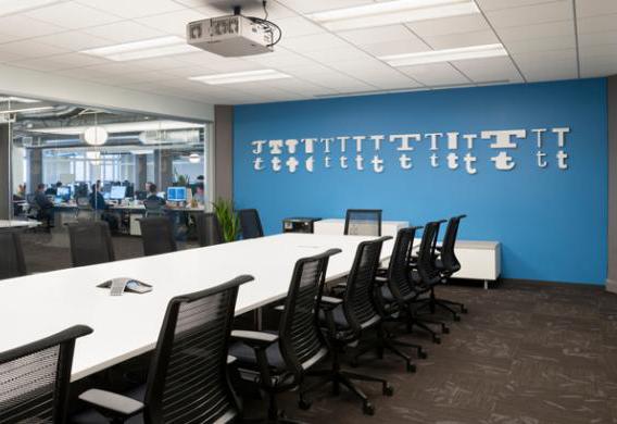 ruang meeting, kantor, ruang kantor, twitter, kantor twitter