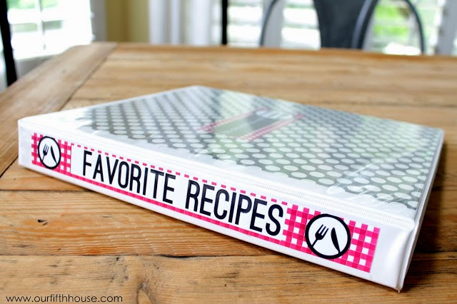 "Meal Planning Tip: Create a ""Favorites"" Book/List"