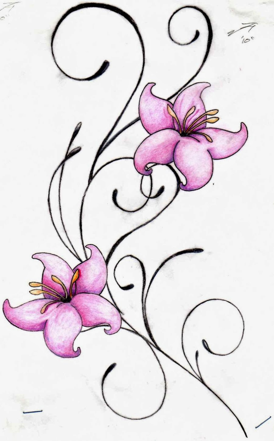 Flowers Tattoo Designs Wallpapers
