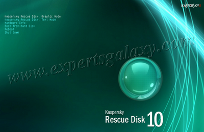 Rescue Disk Environment Selection
