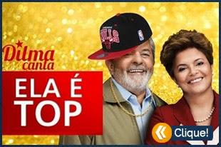 Dilma e Lula Cantam Ela é Top (Mc Bola)