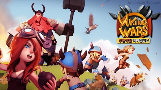 Viking Wars for Kakao a games like clash of clans
