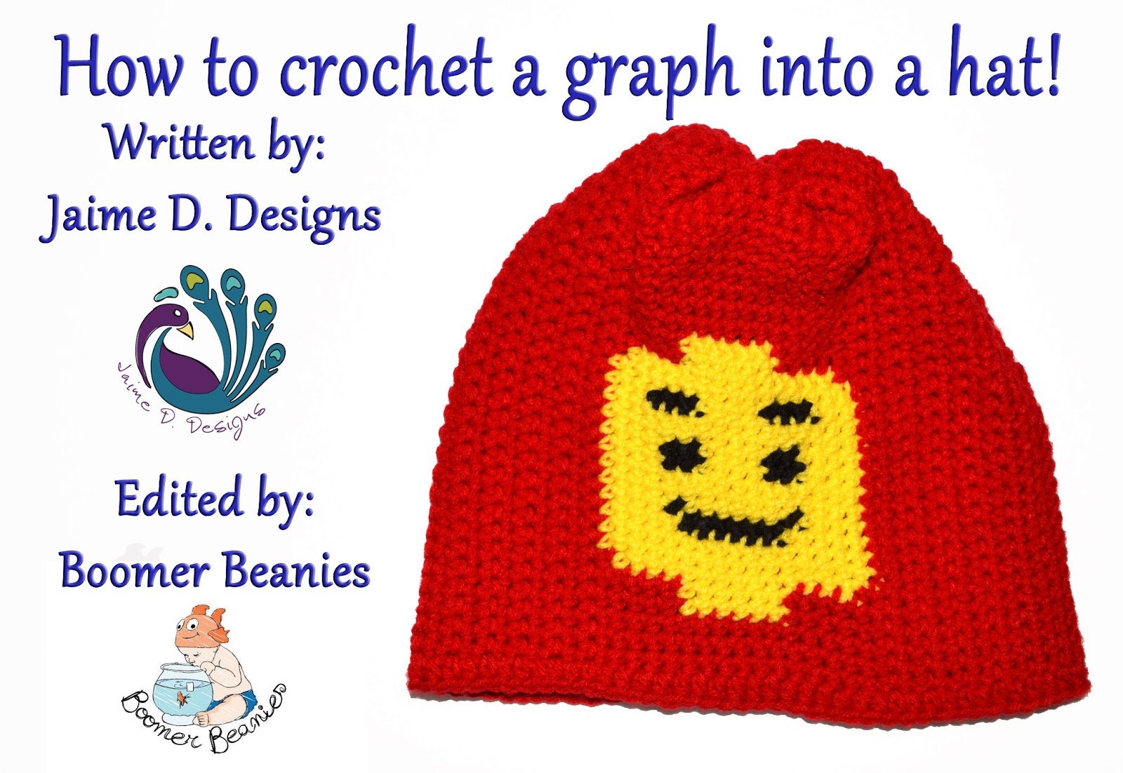 Jaime D. Designs: How to crochet a graph into a hat!
